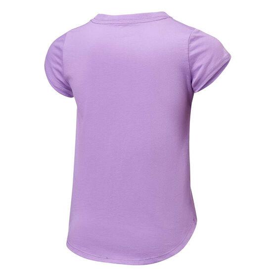 Nike Girls Multi Furtura Tee, Purple, rebel_hi-res