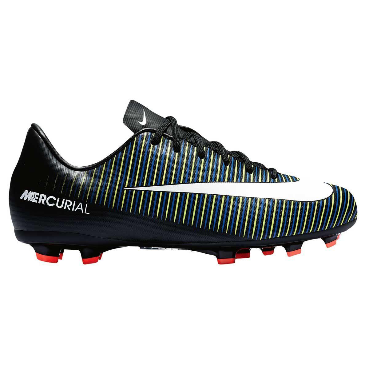 8eaeace4d ... germany nike mercurial victory vi junior football boots black white us  3 junior black c8df4 1a615 ...