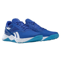Reebok Nanoflex Mens Training Shoes, Blue, rebel_hi-res