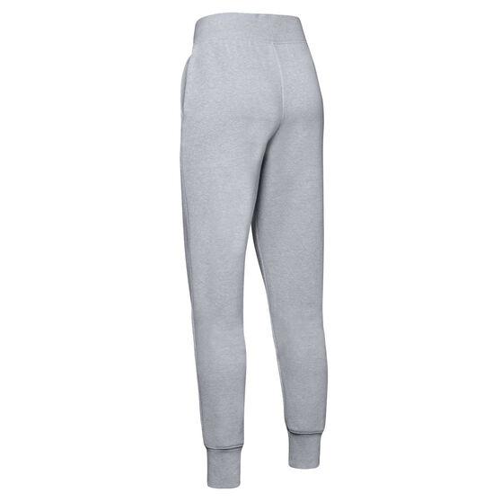 Under Armour Girls Rival Pants, Grey, rebel_hi-res