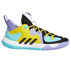 adidas Harden Stepback 2 Basketball Shoes Black US 7, Black, rebel_hi-res