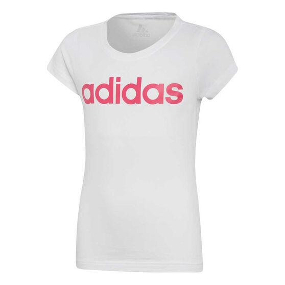 adidas Girls Essentials Linear Tee, , rebel_hi-res