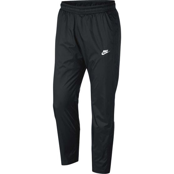 Nike Mens Sportswear Woven Track Pants, Black, rebel_hi-res