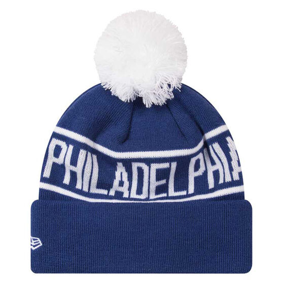 Philadelphia 76ers 2019 New Era Knits On Fire Beanie, , rebel_hi-res
