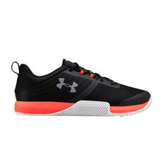 Under Armour Tribase Thrive Mens Training Shoes Black / Red US 8, Black / Red, rebel_hi-res