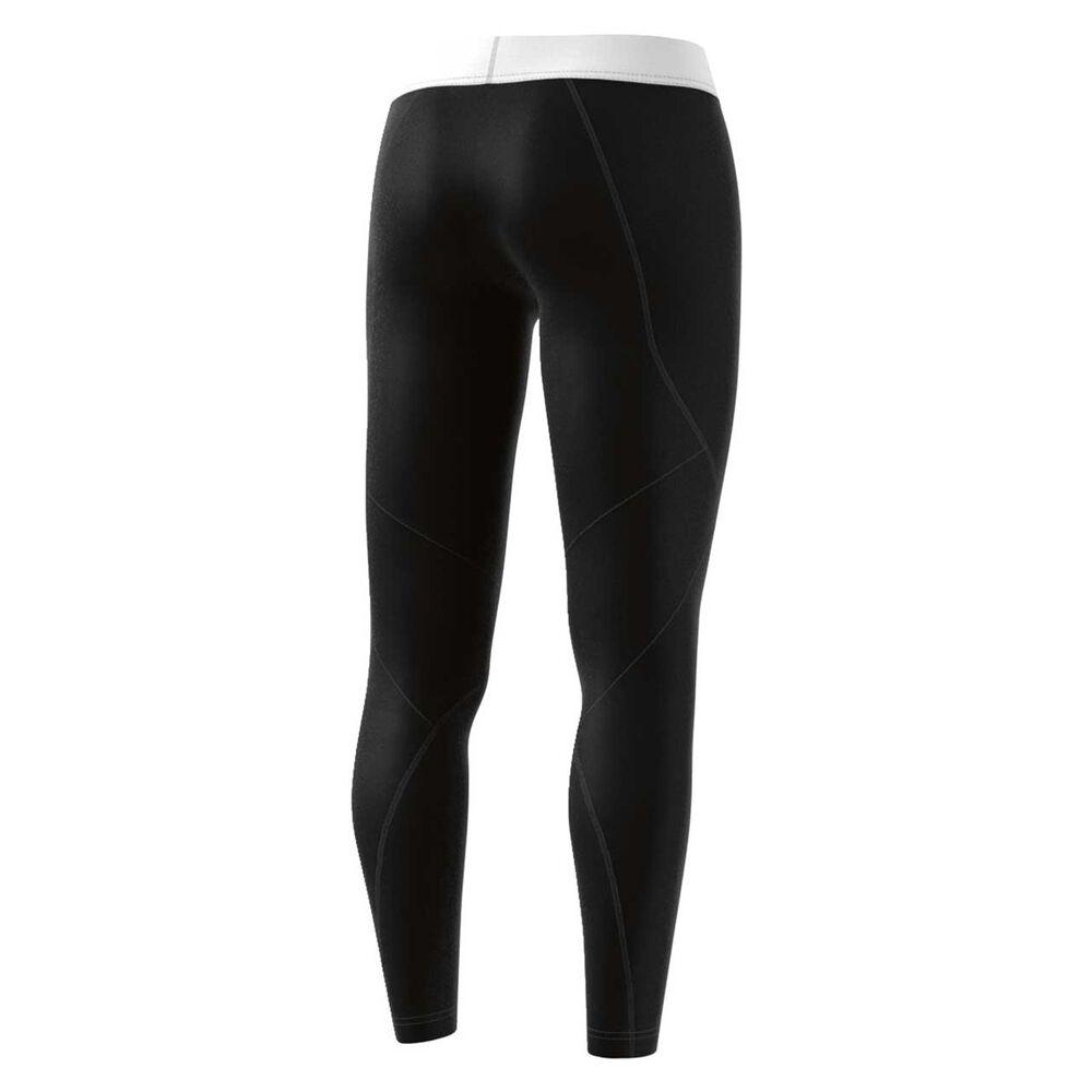 4bf5deff2996a adidas Womens Climacool Logo Tights Black S, Black, rebel_hi-res