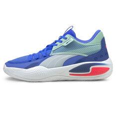 Puma Court Rider 1 Basketball Shoes Blue US 7, Blue, rebel_hi-res