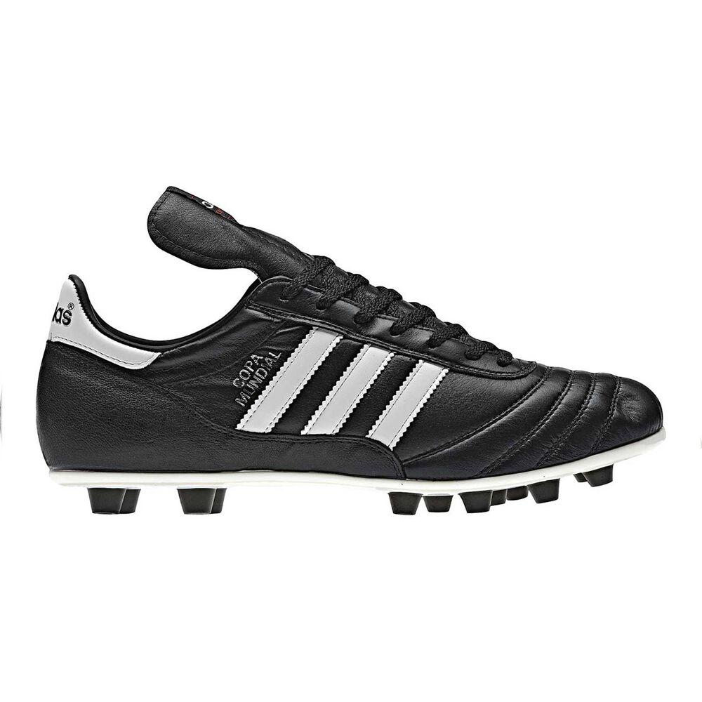 d166a556074 adidas Copa Mundial Mens FG Football Boots Black   White US 7 Adult ...