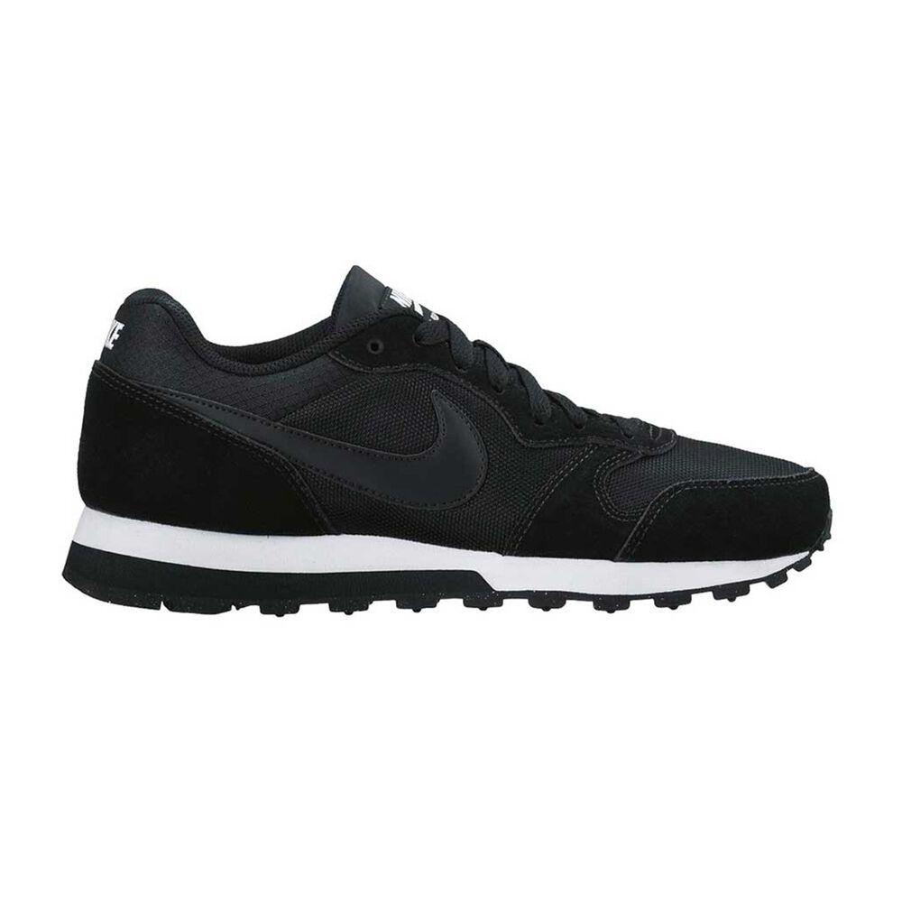 15946e0a73e Nike MD Runner 2 Womens Casual Shoes Black   White US 6