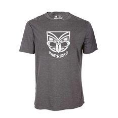 NZ Warriors Mens Tee Dark Grey S, Dark Grey, rebel_hi-res
