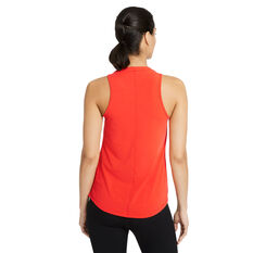 Nike Womens Dri-FIT One Luxe Standard Tank Red XS, Red, rebel_hi-res