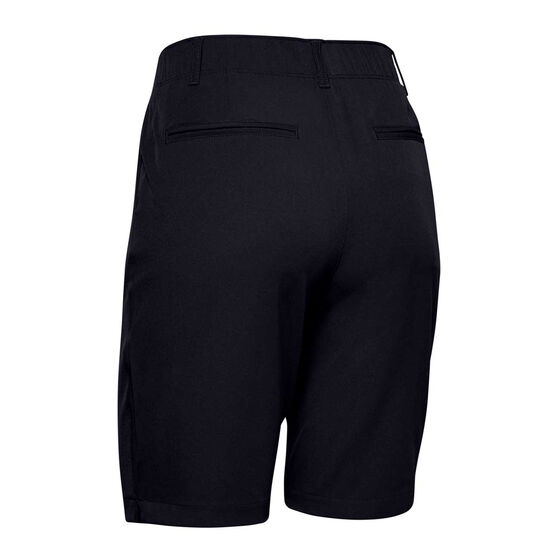 Under Armour Womens UA Links Shorts Black, Black, rebel_hi-res