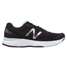 New Balance 680 v5 Womens Running Shoes Black / White US 6, Black / White, rebel_hi-res