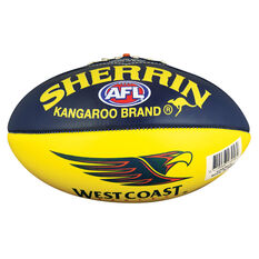 Sherrin AFL West Coast Eagles Softie Ball, , rebel_hi-res