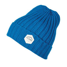 Elude Mens Wharfie Beanie Blue OSFA, , rebel_hi-res