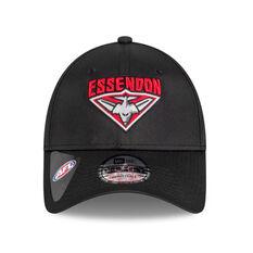 Essendon Bombers 2021 New Era 9FORTY Media Cap, , rebel_hi-res