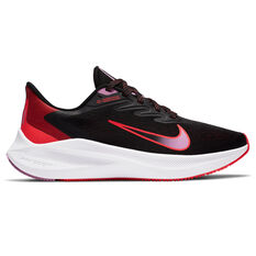 Nike Zoom Winflo 7 Womens Running Shoes Black US 6, Black, rebel_hi-res