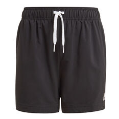 adidas Boys Essentials Chelsea Shorts Black 4, Black, rebel_hi-res