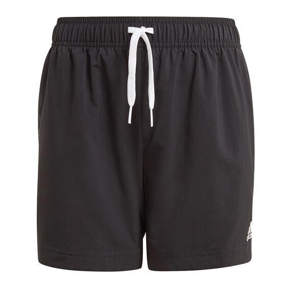 adidas Boys Essentials Chelsea Shorts, Black, rebel_hi-res