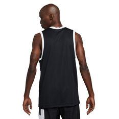 Nike Mens Dri-FIT Starting Five Basketball Jersey Black S, Black, rebel_hi-res