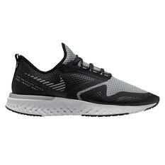 Nike Odyssey React Shield 2 Mens Running Shoes Black / Silver US 8, Black / Silver, rebel_hi-res