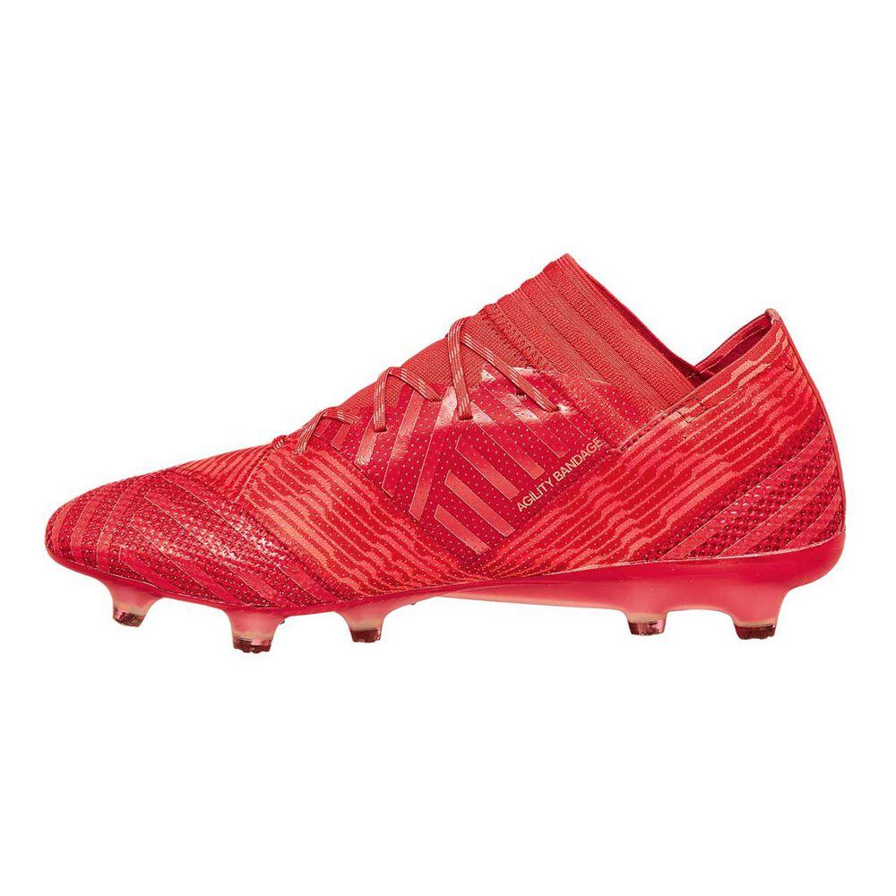 2fc72d4f0c6b adidas Nemeziz 17.1 FG Mens Football Boots Orange   Red US 11.5 Adult