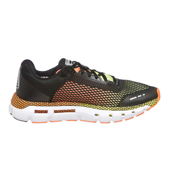 Under Armour HOVR Infinite Mens Running Shoes, Black / Yellow, rebel_hi-res