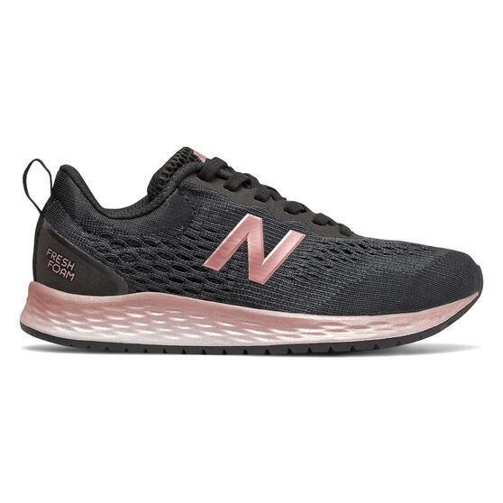 New Balance Fresh Foam Arishi Kids Training Shoes, Black / Rose Gold, rebel_hi-res