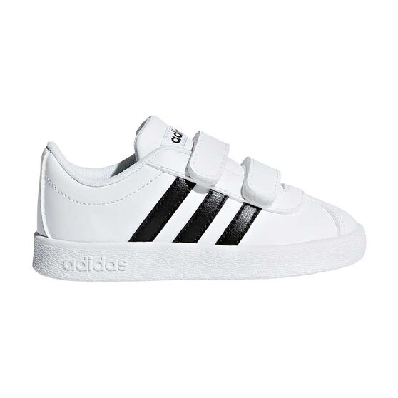 40c97471 adidas VL Court 2.0 CMF Toddlers Shoes White / Black US 4