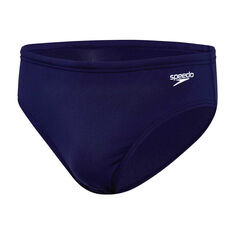Speedo Mens Endurance 8cm Swim Brief Navy 14, Navy, rebel_hi-res