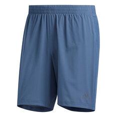 adidas Mens Supernova Running Shorts Navy S, Navy, rebel_hi-res