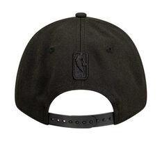 Brooklyn Nets New Era Black on Black 9FORTY Snapback, , rebel_hi-res