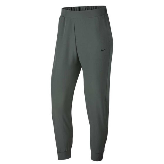 Nike Womens Bliss Training Pants Khaki XS, Khaki, rebel_hi-res