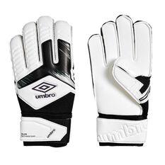 Umbro Neo Precision Digit Protection Goalkeeping Gloves White / Purple 8, White / Purple, rebel_hi-res