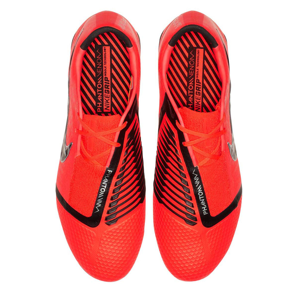 713ccb778 Nike Phantom Venom Elite Mens Football Boots Red   Silver US Mens 13    Womens 14.5