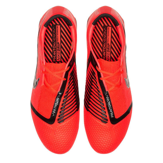 Nike Phantom Venom Elite Mens Football Boots, Red / Silver, rebel_hi-res