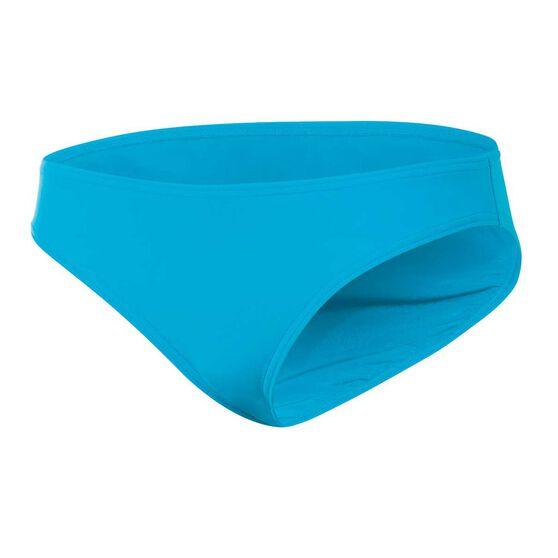 Zoggs Womens Swim Briefs, Blue, rebel_hi-res