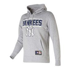New York Yankees Flex Team Hoodie Grey S, Grey, rebel_hi-res