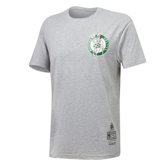 Boston Celtics Mens Retro Repeat Tee, , rebel_hi-res