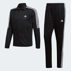 adidas Mens Tiro Track Suit Black / White S, Black / White, rebel_hi-res