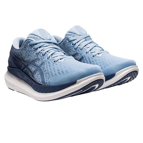 Asics GlideRide 2 Womens Running Shoes, Blue, rebel_hi-res