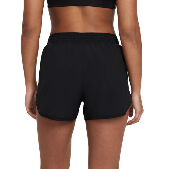 "Nike Womens Tempo Luxe 3"" Running Shorts, Black, rebel_hi-res"