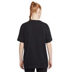 Nike Air Womens Tee Black XS, Black, rebel_hi-res