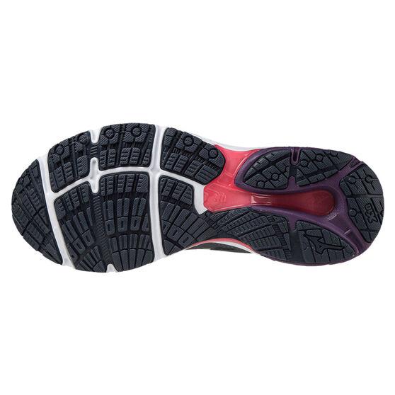 Mizuno Wave Prodigy 3 Womens Running Shoes, Black/White, rebel_hi-res