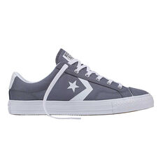 Converse Star Player Mens Casual Shoes Grey / White US 7, Grey / White, rebel_hi-res