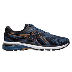 Asics GT 2000 8 2E Mens Running Shoes Blue / Black US 7, Blue / Black, rebel_hi-res