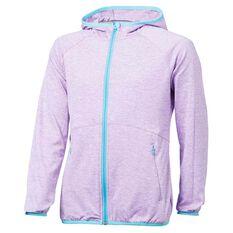 bcf1ecd35950 Tahwalhi Girls Glide Full Zip Hoodie Purple 4