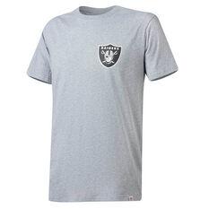 Las Vegas Raiders Majectic Codey T-Shirt, Grey, rebel_hi-res