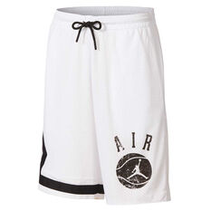 Nike Boys JDB Auth Story 1 Shorts White / Black S, White / Black, rebel_hi-res