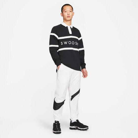 Nike Mens Sportswear Woven Statement Pants, White, rebel_hi-res